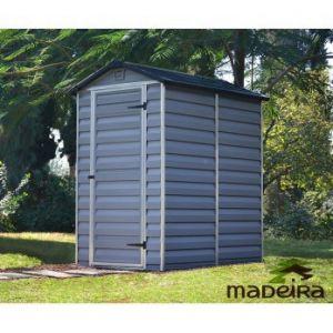 Madeira Dolly - Abri de jardin en polycarbonate avec plancher 1,90 m2