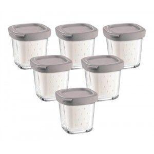 Seb D841974 - 6 pots yaourt avec égouttoir pour yaourtiere