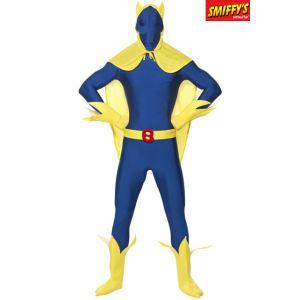 Smiffy's Déguisement seconde peau Bananaman (taille M ou L)