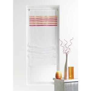 Homemaison Store en étamine rayures horizontales (60 x 160 cm)
