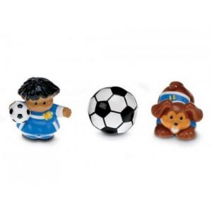 Fisher-Price Tube Figurine Little People : Football