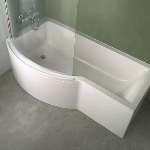 Ideal Standard Connect - Baignoire-douche asymétrique version gauche (150 x 70 cm)