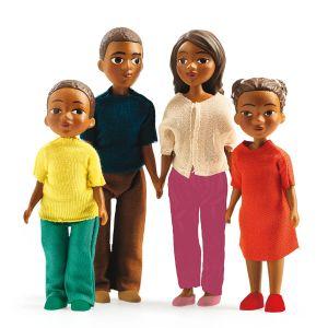 Djeco Figurines Famille Milo et Lila
