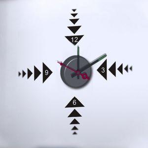 Horloge murale sticker Design Play