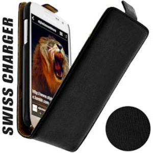 Swiss Charger SCP10118  - Étui Flip pour Samsung Galaxy S4 mini