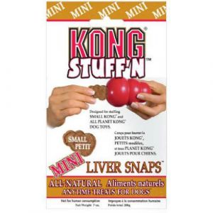 Kong Stuff`N Liver Snaps - Biscuits pour Chiens