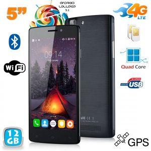 Yonis Y-sa64g12 - Smartphone 4G Android 5.1 Dual SIM 8 Go + carte 4 Go