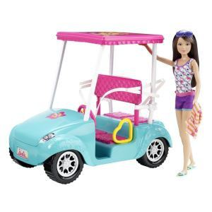 Mattel Barbie Skipper voiturette de golf