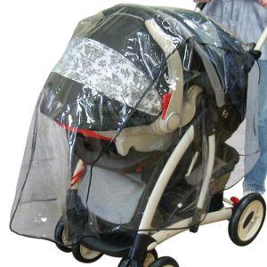 Bébé Buki 90207 - Habillage de pluie pour poussette avec cosy