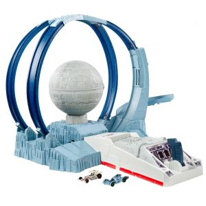 Mattel Hot Wheels Star Wars : Playset Étoile Noire