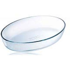 Pyrex Plat à four ovale Classic en verre (17 x 27 cm)