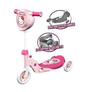 Mondo Patinette pliable 3 roues Hello Kitty