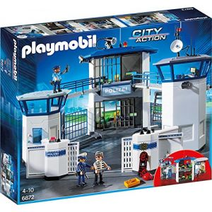 Playmobil 6872 City Action - Police central de commandement avec prison