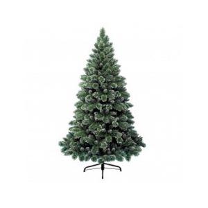 Finley - Sapin de Noël artificiel vert enneigé (2m40)
