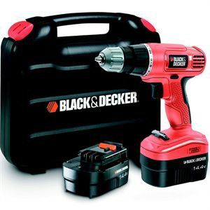 Black & Decker EPC14CABK - Perceuse sans fil 14.4V + 2 batteries