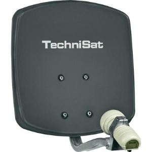 TechniSat DigiDish 33 Single - Antenne satellite parabole LNB Single 30 dB