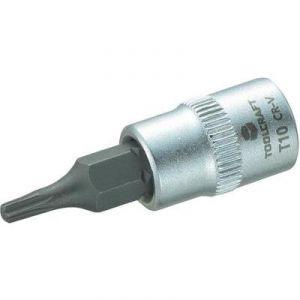 """Toolcraft Douille de 6,3 mm (1/4"""") avec embout Torx T10 de 37 mm"""
