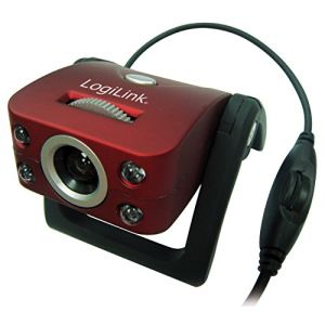 Logilink UA0067 - Webcam USB avec microphone
