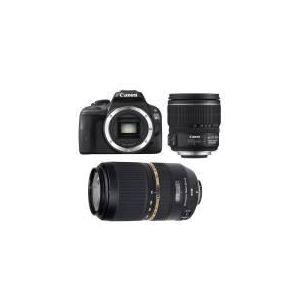 Canon EOS 100D (avec 2 objectifs 15-85mm et Tamron 70-300mm)