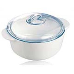 Pyroflam Cocotte ronde avec couvercle (1 L)