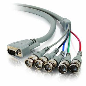 C2g 81232 - Câble VGA HD-15 (M) vers BNC (M) 2 m