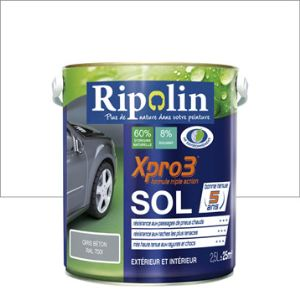 Ripolin peinture xpro3 sol 2 5 litres comparer avec - Peinture ripolin avis ...