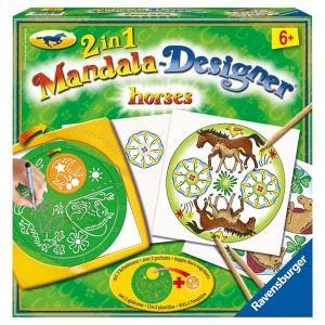 Ravensburger Mandala Designer 2 en 1 - Horses