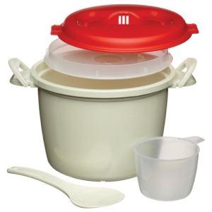 Kitchen craft Cuiseur à riz pour micro-ondes (1,5 L)