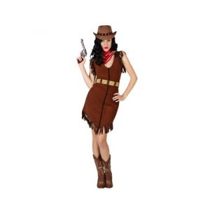 Atosa Déguisement de cowgirl adulte