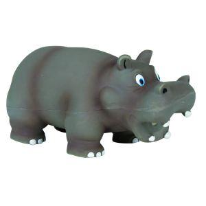 Trixie Hippopotame en latex pour chien