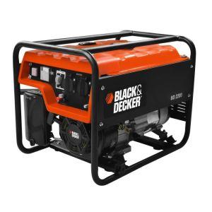 Black & Decker BD 2200 - Groupe électrogène 2,2 kW 196 ccm (160.100.540)