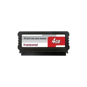Transcend TS4GPTM510-40V - IDE Flash Module Vertical 4 Go