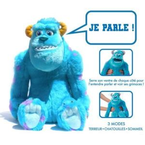 Spin Master  Monstres Academy  Monstre & Cie Peluche interactive Sulli 30 cm