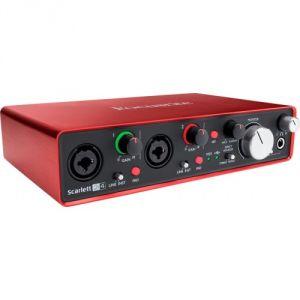Focusrite Scarlett2 2i4 - Interface audionumérique USB Scarlett 2nd Generation