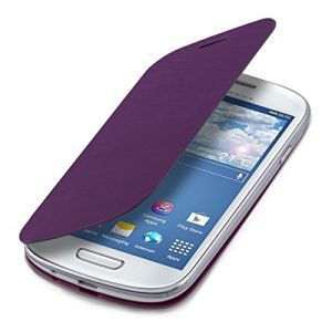 Kwmobile 14053 - Etui de protection à rabat pour Samsung Galaxy S3 Mini i8190