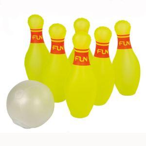 Ferry 221905 - Jeu de 6 quilles + 1 ballon gonflable