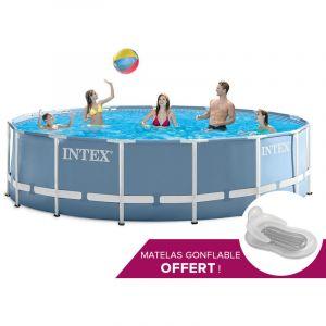 Intex 28736 - Piscine tubulaire ronde 4,57 x 1,22 m