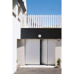 Ouest Fermeture Porte de garage 4 vantaux en PVC (200 x 240 cm)