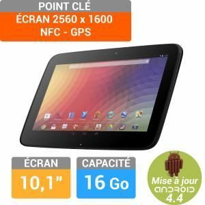 "Samsung Nexus 10 16 Go - Tablette tactile 10.1"" sous Android 4.4"