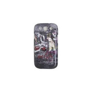Akashi ALTCSG3104043 Love my city - Coque pour Samsung Galaxy S3