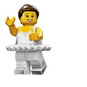 Lego Mini figurine Serie 15 : Ballerine