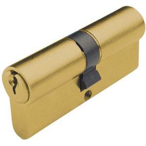 Tesa 50303540L - Cylindre de serrure TE5 75mm (35+40) MV laiton