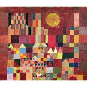 Puzzle Michèle Wilson Puzzle Château Et Soleil Klee 24 pièces