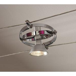 Paulmann Spot Cardan en aluminium chromé
