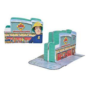 Simba Toys Calendrier de l'Avent pour enfant Sam Le Pompier