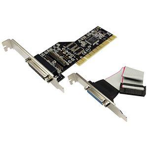 Logilink PC0014 - Carte 2 ports Parallèles PCI