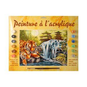 Oz international Peinture au numéro : Sérénité