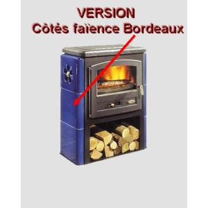 Godin 363104 - Poêle à bois Eco 10 kw (Version faïence)
