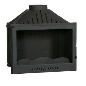 Ferlux 701 - Insert foyer de cheminée double combustion en fonte 14 kw