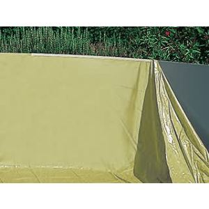 Gre FPROV730 - Liner 40/100 pour piscine ovale hors sol  730 x 375 x 120 cm (avec rail d'accroche)